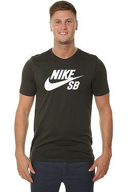 tričko Nike SB Logo - 356 Sequoia Sequoia White ... 5ed591acc6