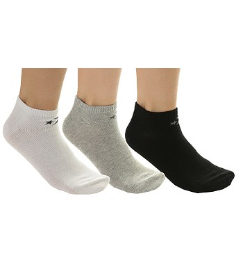 high quality nice cheap uk availability socks Converse Basic Low Cut 3 Pack - E747A/Mid Gray ...