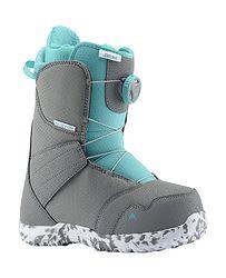 detské topánky Burton Zipline Boa - Gray Surf Blue 3c99e1c00c0