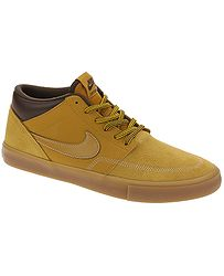 f795ce8fed5 boty Nike SB Portmore II Solarsoft Mid Bota - Bronze Bronze Gum Light Brown