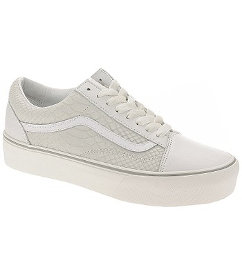 8834dd3b812 shoes Vans Old Skool Platform - Leather Snake White - blackcomb-shop.eu