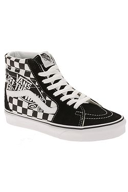 c310111cb70 shoes Vans Sk8-Hi - Vans Patch Black True White ...