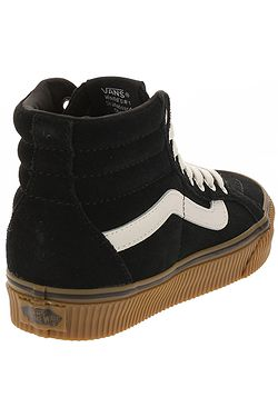 7e2f211e5e4 ... shoes Vans Sk8-Hi Reissue - Suede Black Embossed Gum