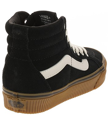 shoes Vans Sk8-Hi Reissue - Suede Black Embossed Gum. IN STOCK ‐ by 20. 3.  at your home -20% 6e54af1d9