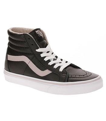 shoes Vans Sk8-Hi Reissue - Leather Flannel Violet Ice True White ... e0c310c5c