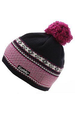 čiapka Eisbär Lisanne Pompon MÜ - 024 Nacht Deep Pink White Dark ... 2d96769082d