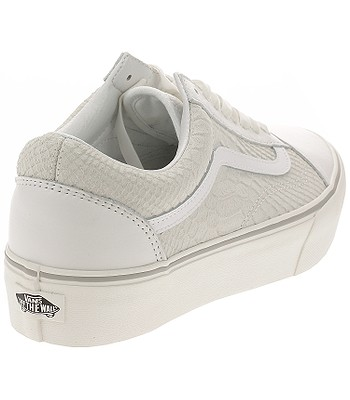 f34bdcd14c96 shoes Vans Old Skool Platform - Leather Snake White. No longer available.