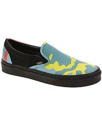 da3b5395199f1 topánky Vans Classic Slip-On - Neon Camo/Multi Camo/Black