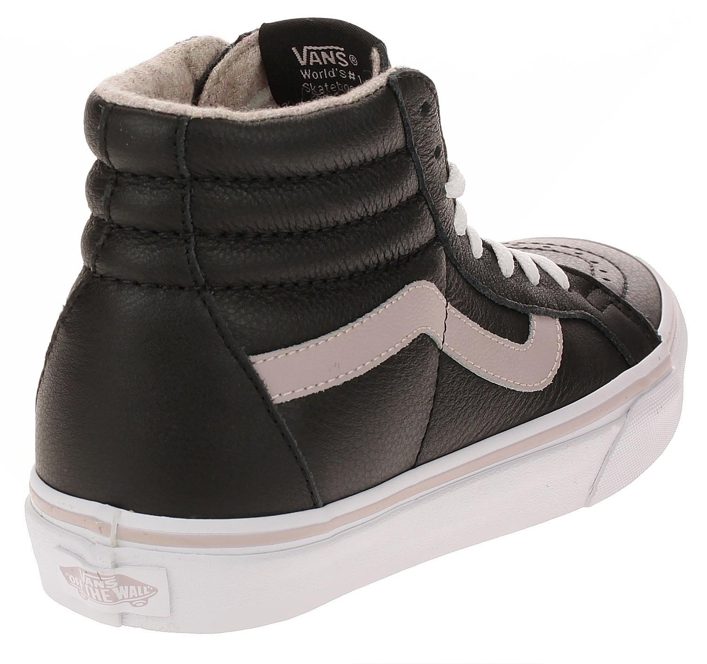 shoes Vans Sk8 Hi Reissue Leather FlannelViolet IceTrue