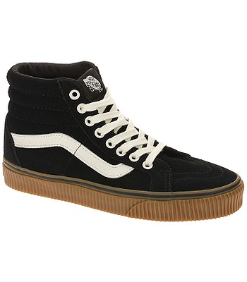 shoes Vans Sk8-Hi Reissue - Suede Black Embossed Gum - blackcomb-shop.eu ac889e95b
