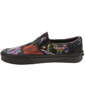 356e37cf603 shoes Vans Classic Slip-On - Festival Satin Black Black - blackcomb ...