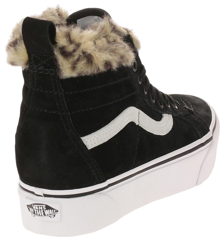 shoes Vans Sk8-Hi Platform MTE - Black