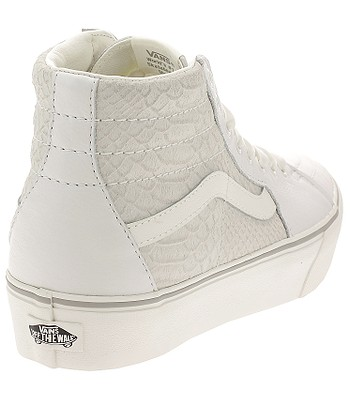 bd7a624549 shoes Vans Sk8-Hi Platform 2 - Leather Snake White - blackcomb-shop.eu