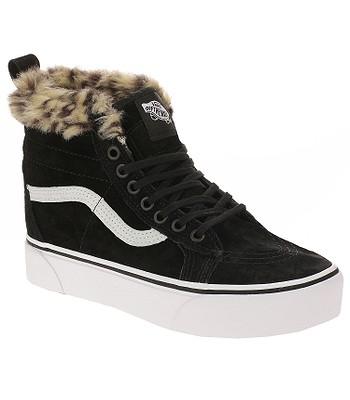 972da79dc3a shoes Vans Sk8-Hi Platform MTE - Black Leopard Fur - blackcomb-shop.eu