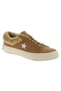 83ea3947497 boty Converse One Star SP OX - 162603 Burnt Caramel Burnt Caramel ...