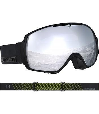 f1f8dd100 okuliare Salomon XT One - Black Neon/Universal White - snowboard ...