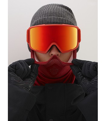 okuliare Anon M4 Cylindrical - Red Sonar Red By Zeiss - snowboard-online.sk 48bab648ec6