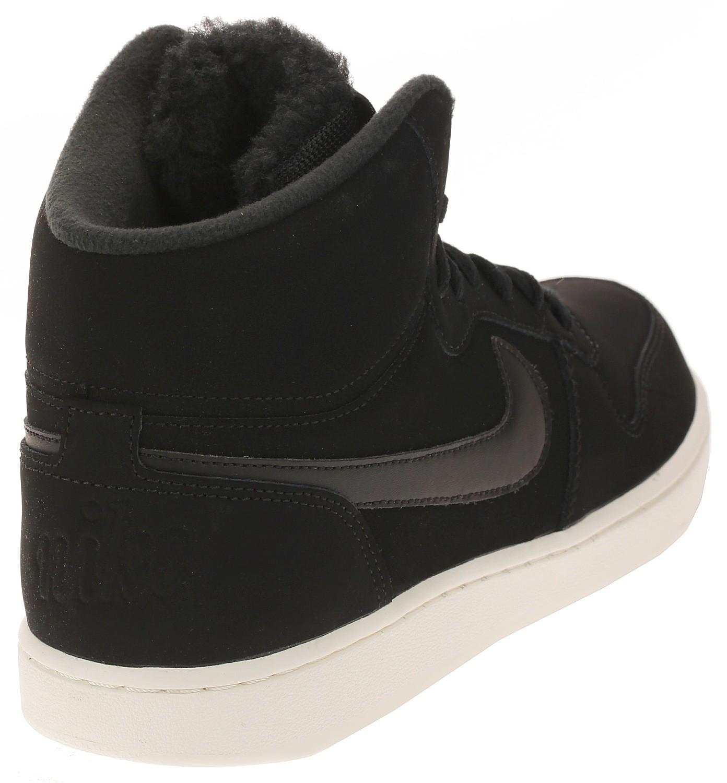 shoes Nike Ebernon Mid SE - Black/Black