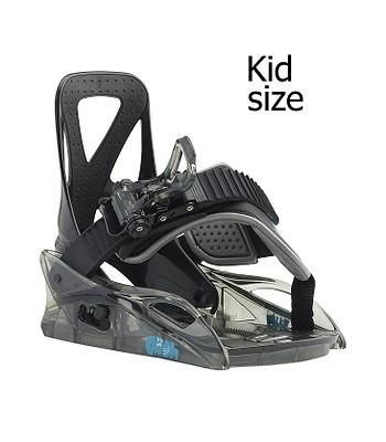 viazanie Burton Grom - Black - snowboard-online.sk e02f293b306