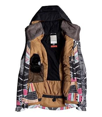 ea718f7168e bunda Roxy Frozen Flow - KVJ6  True Black Pop Snow Stars