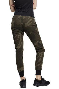 19501f1b9212 ... tepláky Urban Classics Camo Terry TB1638 - Olive Camouflage Black