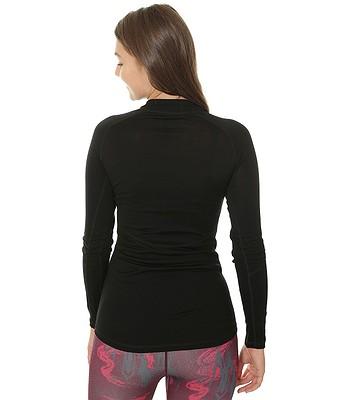 8c153f15e5f6 tričko Husky Merino Zip LS - Black