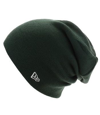 čepice New Era Essential Long Cuff - Dark Green - snowboard-online.cz 53b48feba5