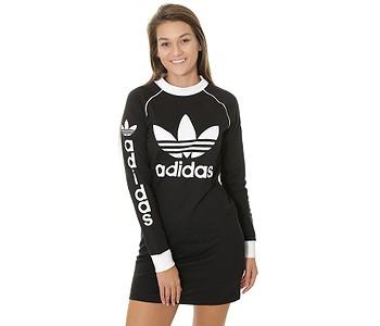 ŠATY ADIDAS ORIGINALS DRESS - BLACK - skate-online.sk f6e5e61fe8