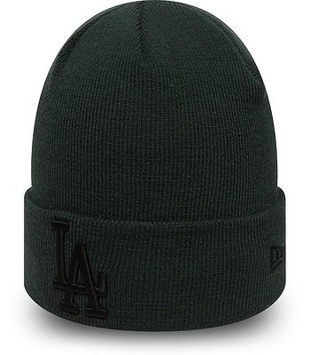 čepice New Era League Essential Cuff MLB Los Angeles Dodgers - Dark  Green Black 45203d1e6a