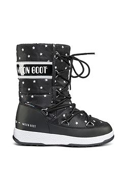 detské topánky Tecnica Moon Boot We Quilted Star - Black White ... 06d50a73ef8