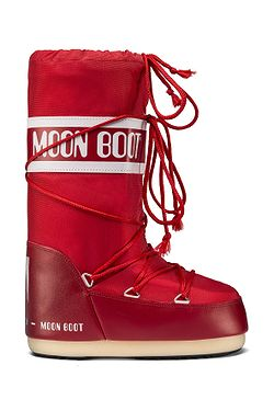 topánky Tecnica Moon Boot Nylon - Red aacb9b3d191