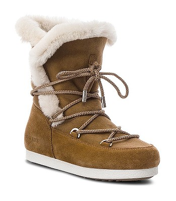 a4d92194dc62 shoes Tecnica Moon Boot Far Side High Shearling - Whiskey - women´s. In  stock ‐ by at your home -30%