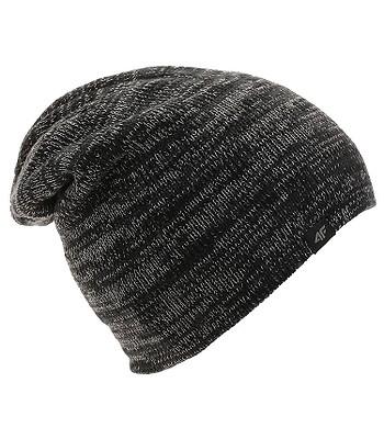 čepice 4F X4Z18-CAM253 - Dark Gray Melange - snowboard-online.cz 04d1034476