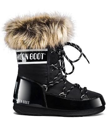 topánky Tecnica Moon Boot W.E. Monaco Low - Black - snowboard ... b77d7deec63