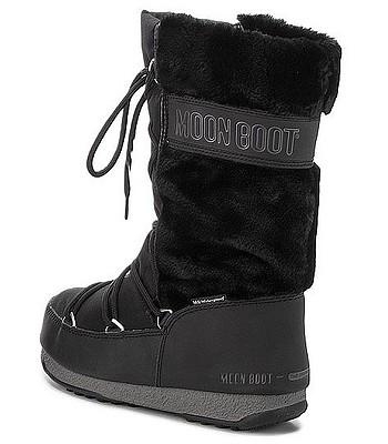 1f17bd92ca boty Tecnica Moon Boot W.E. Monaco Fur - Black. SKLADEM ‐ ZÍTRA U VÁS DOMA  -20%Doprava zdarma