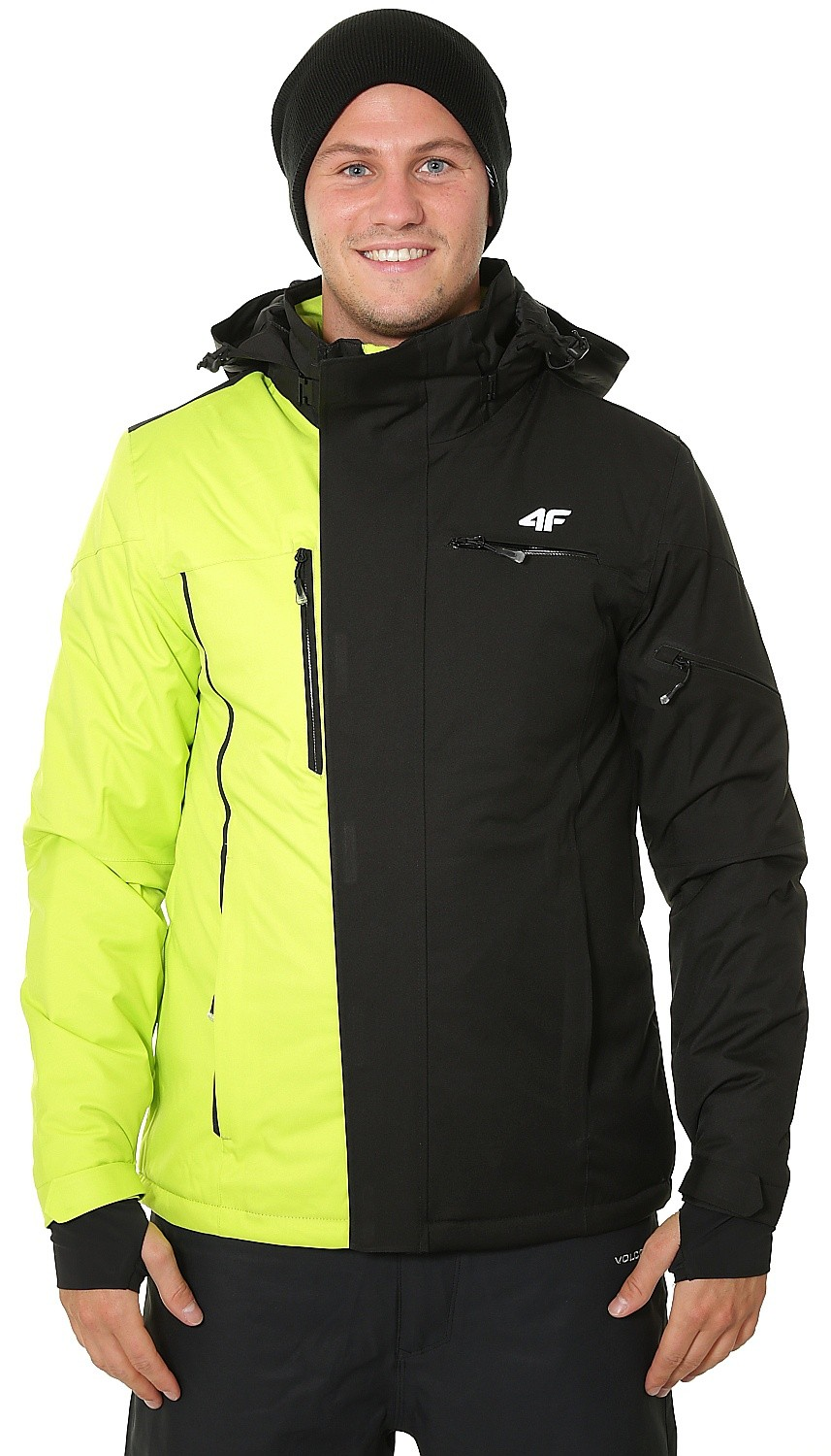 Green Eu X4z18 Men´s Canary Jacket 4f Neon Blackcomb Shop Kumn257 qpZdIBwWTp