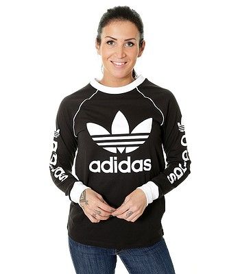 8629acfa T-Shirt adidas Originals Og LS - Black - women´s - blackcomb-shop.eu