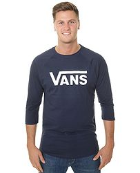 tričko Vans Classic Raglan - Dress Blues Dress Blues 14c4db2c4a