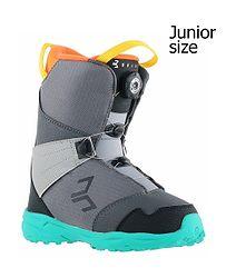 c1e3b04b3e47 detské topánky Beany Avenger - Gray Black Mint Orange