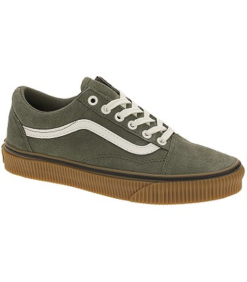 dfbcd381309 shoes Vans Old Skool - Suede Dusty Olive Embossed Gum - snowboard-online.eu