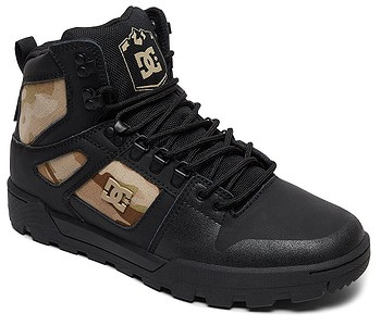 3a2f97141 TOPÁNKY DC PURE HIGH -TOP WR - BLO/BLACK CAMO - skate-online.sk