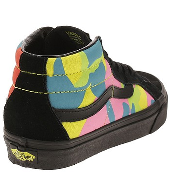 shoes Vans Sk8-Hi Mid Reissue - Neon Camo Multi Camo Black. No longer  available. 5baae2730