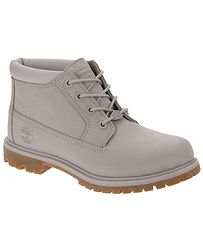 267e013b90e boty Timberland Nellie Chukka Double Waterproof - A1S7R Light Grey Nubuck