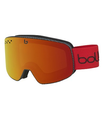 okuliare Bollé Nevada - Matte Carbon Sunrise - snowboard-online.sk 7e7a1a9d335
