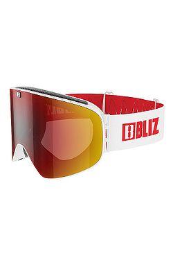 af458637e20 brýle Bliz Flow - 37148-04 Matt White Dark Brown Red ...