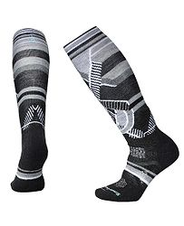 ponožky Smartwool PhD Ski Medium Pattern - Charcoal 4a55b6690c