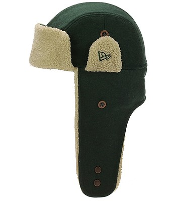 c763ab25534 cap New Era Trapper Winter Utility Melton - Dark Green Stone - men´s -  snowboard-online.eu