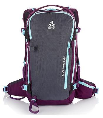 e30b64602d batoh Arva Explorer 26 - Purple Gray - batohy-online.cz
