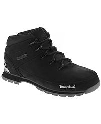 topánky Timberland Euro Sprint Hiker - A1RI9 Black Nubuck 609fd76e8be
