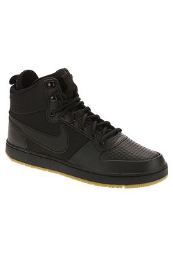 f319bec9511 boty Nike Ebernon Mid Winter - Black Black Gum Light Brown ...